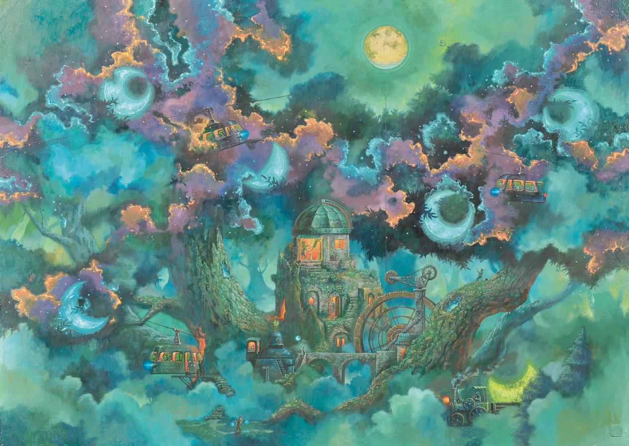 月の生まれる森